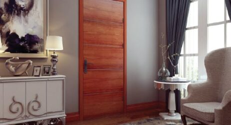 cửa gỗ công nghiệp giá rẻ