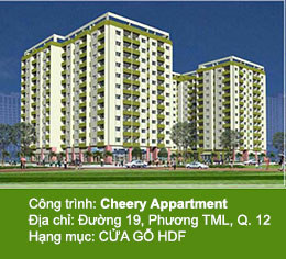 biệt thự cheery appartment