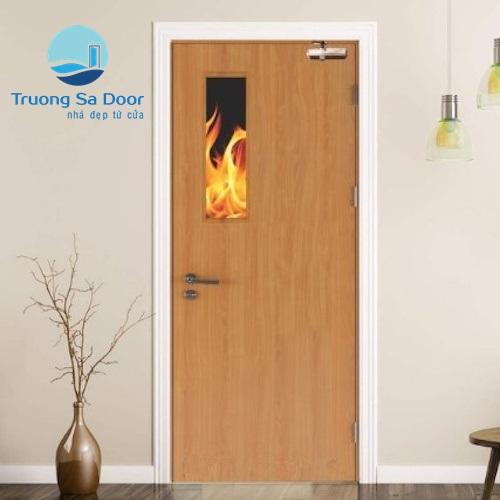 Cửa gỗ chống cháy p1g1
