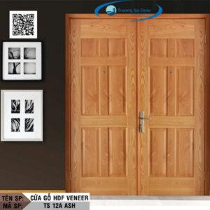 Cửa gỗ HDF Veneer TS 12A Ash