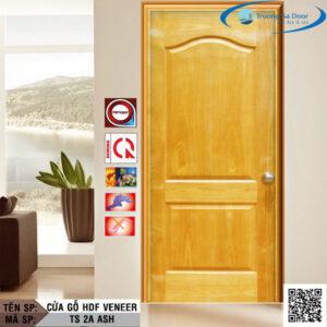 Cửa gỗ HDF Veneer TS 2A Ash