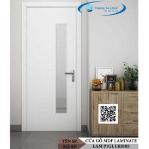 Cửa gỗ MDF Laminate LAM P1GL LK010S