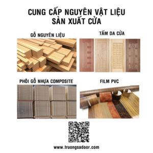Nguyên vật liệu sản xuất cửa