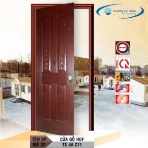 Cửa gỗ HDF TS 4A C11