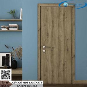 Cửa gỗ MDF Laminate LAM P1 LK4581A