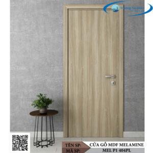 Cửa gỗ MDF Melamine MEL P1 404PL