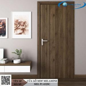 Cửa gỗ MDF Melamine MEL P1 432SC