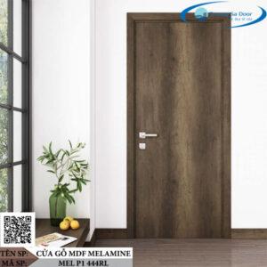 Cửa gỗ MDF Melamine MEL P1 444RL