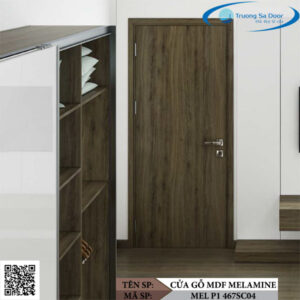 Cửa gỗ MDF Melamine MEL P1 467SC04