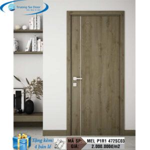 Cửa gỗ MDF Melamine MEL P1R1 472SC03