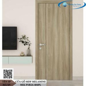 Cửa gỗ MDF Melamine MEL P1R2A 404PL