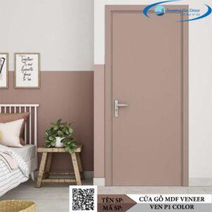 Cửa gỗ MDF Veneer VEN P1 Color