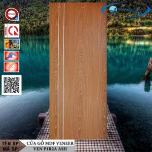 Cửa gỗ MDF Veneer VEN P1R2A Ash