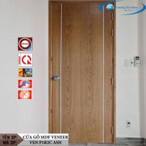 Cửa gỗ MDF Veneer VEN P1R2C Ash