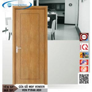Cửa gỗ MDF Veneer VEN P1R4A Ash