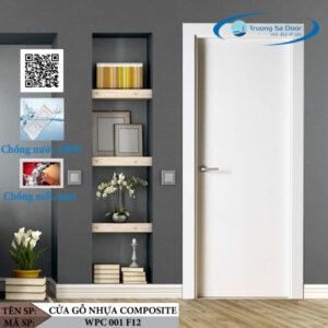 Cửa gỗ nhựa composite WPC 001 F12