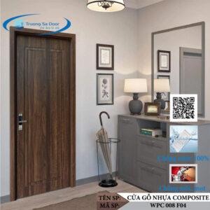 Cửa gỗ nhựa composite WPC 008 F04