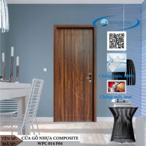 Cửa gỗ nhựa composite WPC 014 F04