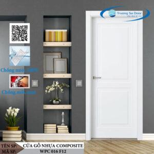 Cửa gỗ nhựa composite WPC 016 F12