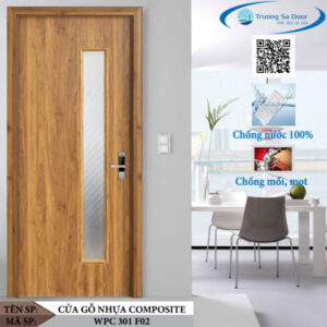 Cửa gỗ nhựa composite WPC 301 F02