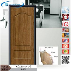 Cửa nhựa gỗ Sung Yu B 237