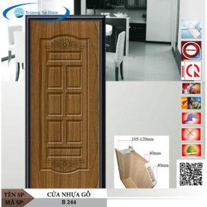 Cửa nhựa gỗ Sung Yu B 244