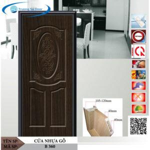 Cửa nhựa gỗ Sung Yu B 360